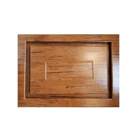 دریچه زیر فنکوئل چوبی