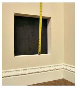 اندازه گیری صحیح ابعاد دریچه تهویه