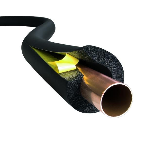 عایق حرارتی الاستومری لوله ای با چسب مسلح